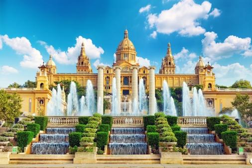 national-museum-in-barcelonaplaca-de-espanyaspain