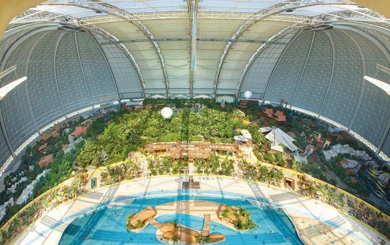 Indoor Tropical Island